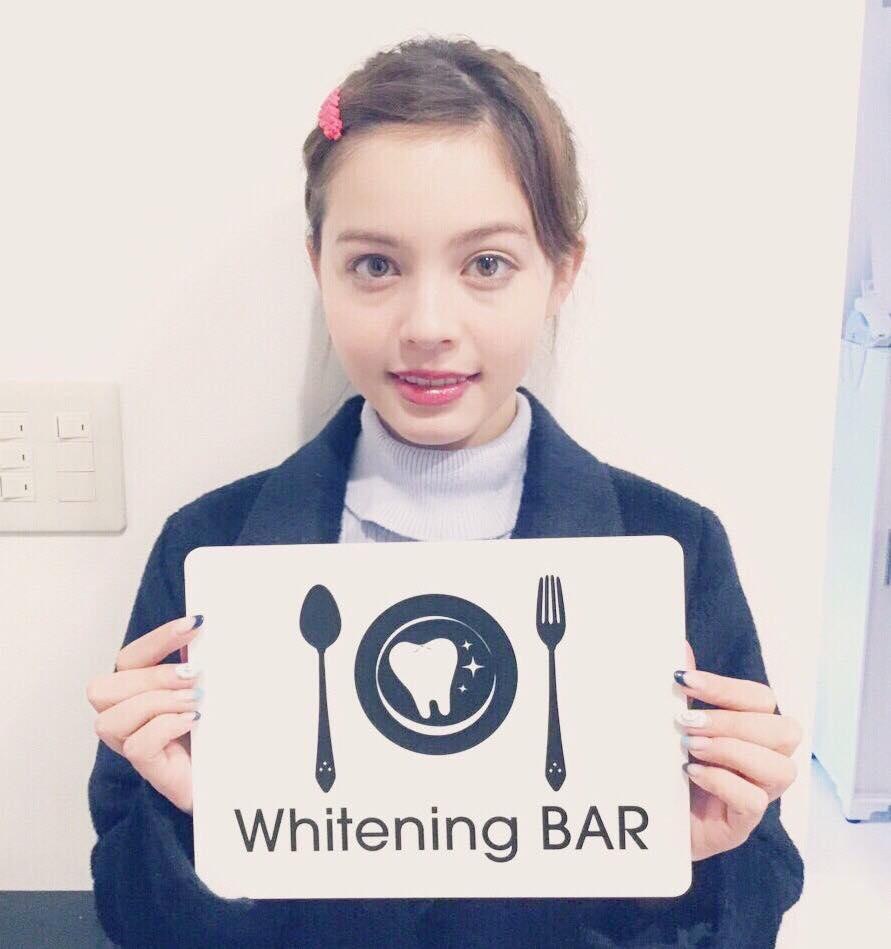 加藤ナナ,ホワイトニングバー,セルフホワイトニング,ホワイトニング