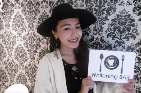モデル,加藤澪,ホワイトニングバー,ホワイトニング,セルフホワイトニング