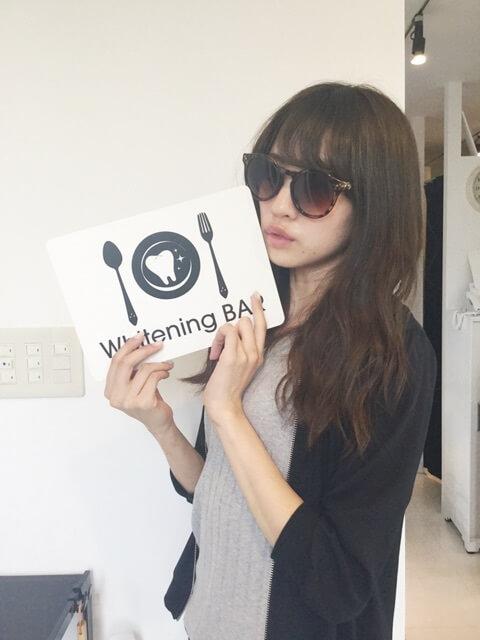 志田友美,ホワイトニング,セルフホワイトニング,ホワイトニングバー