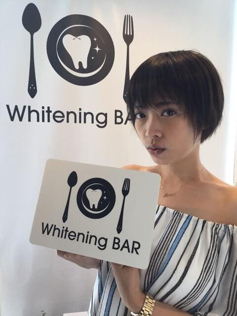 歌手,石川マリー,ホワイトニング,セルフホワイトニング,ホワイトニングバー