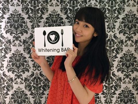 女優,モデル,山谷花純,ホワイトニング,セルフホワイトニング,ホワイトニングバー