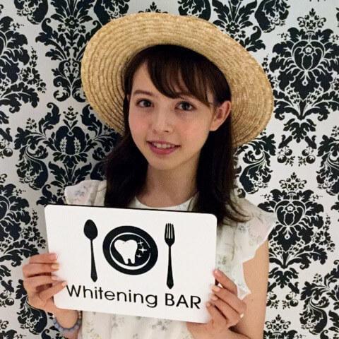 モデル,加藤ナナ,ホワイトニング,ホワイトニングバー,セルフホワイトニング