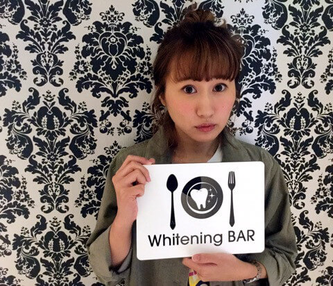 たばこのヤニ, セルフホワイトニング.ホワイトニング, ホワイトニングバー,杏璃あん,読者モデル