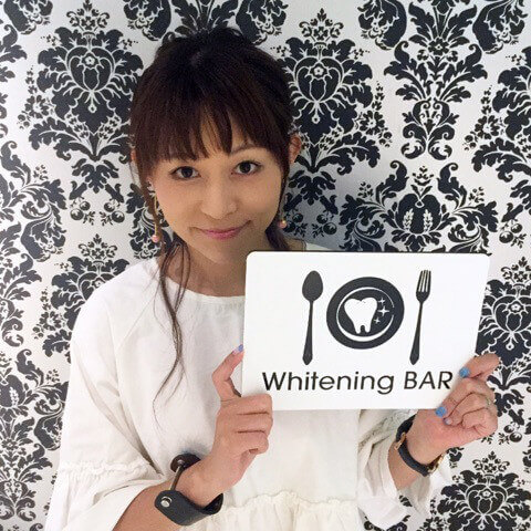 ホワイトニング,セルフホワイトニング,たばこのヤニ,,読者モデル,グラフィックデザイナー,原淳美