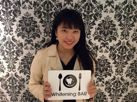 E-girls,萩尾美聖,ホワイトニングバー,ホワイトニング,セルフクリーニング,セルフクリーニング