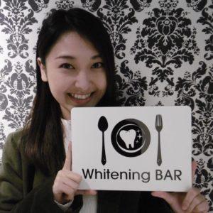 グラビアアイドル,中川朋美,ホワイトニング,ホワイトニングバー,セルフホワイトニング