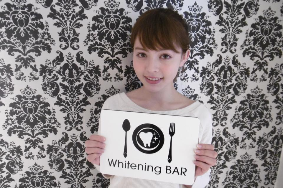加藤ナナ,ホワイトニング,セルフホワイトニング,ホワイトニングバー