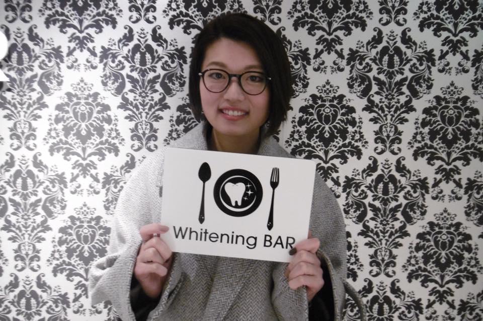 津村知江,ホワイトニング,セルフホワイトニング,ホワイトニングバー