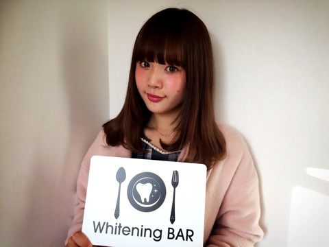 読者モデル,目見田早弥子,ホワイトニング,セルフホワイトニング,ホワイトニングバー