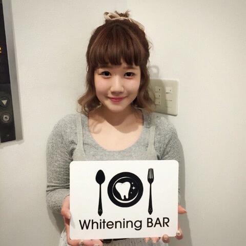 読者モデル,岡元優香,ホワイトニング,セルフホワイトニング,ホワイトニングバー