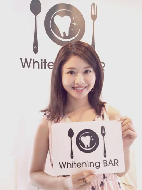 サマンサ,DJ,一木美里,ホワイトニング,セルフホワイトニング,ホワイトニングバー,セルフホワイトニング
