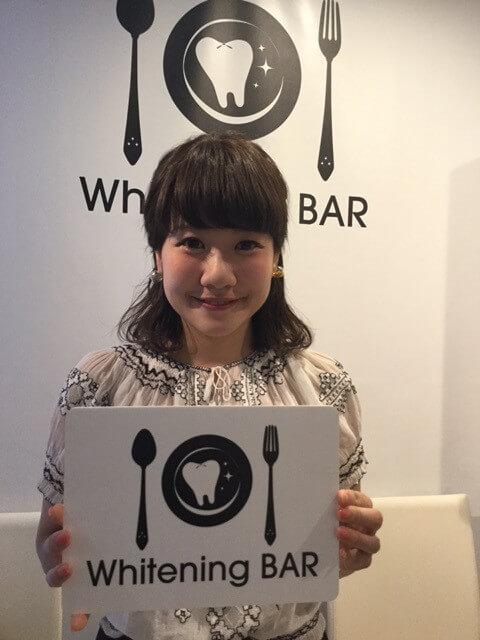 読者モデルでご活躍の岡元優香さんがご来店