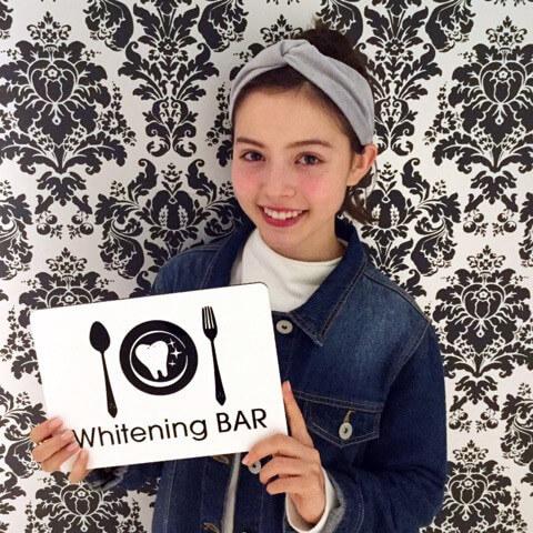 RAYモデル加藤なな|歯のホワイトニング専門店ホワイトニングバー