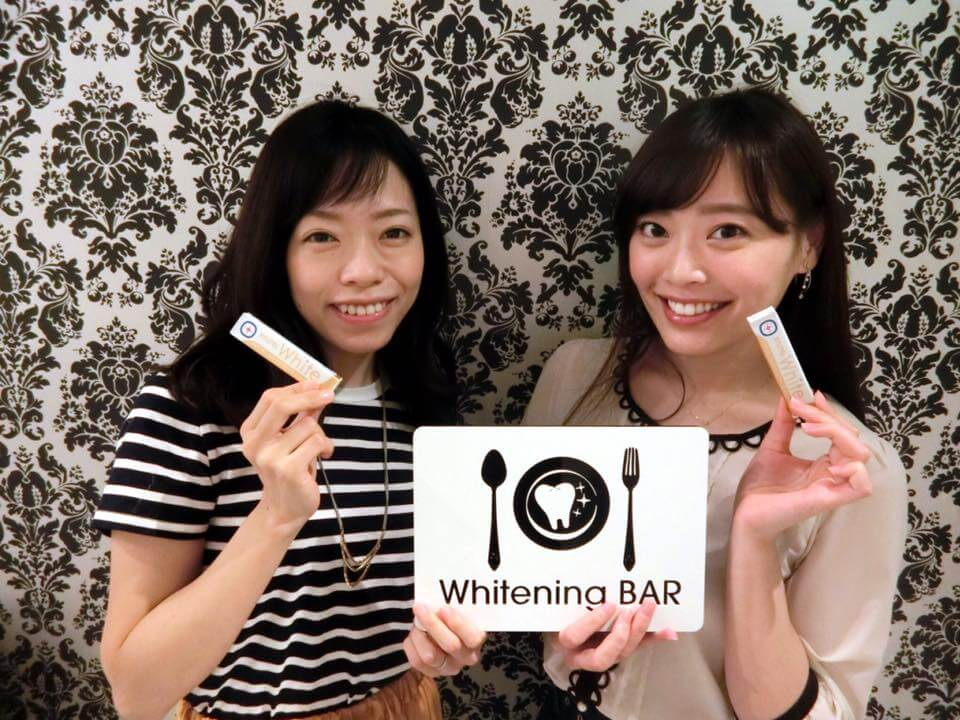 松本圭世と小林未沙|歯のホワイトニング専門店ホワイトニングバー