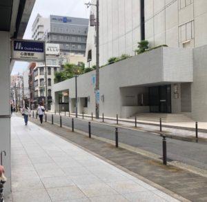 御堂筋線心斎橋駅からホワイトニングバー心斎橋オーパ店までの案内3
