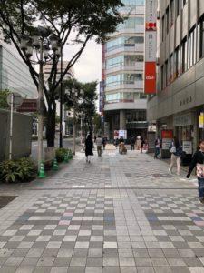 栄駅からホワイトニングバー名古屋栄店まで2の案内