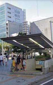 栄駅からホワイトニングバー名古屋栄店までの案内1