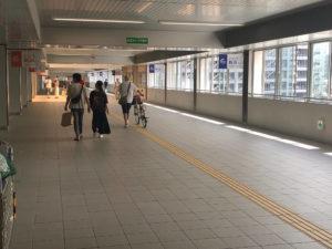 JR新潟駅からホワイトニングバー新潟店までの案内6