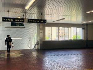 JR新潟駅からホワイトニングバー新潟店までの案内7