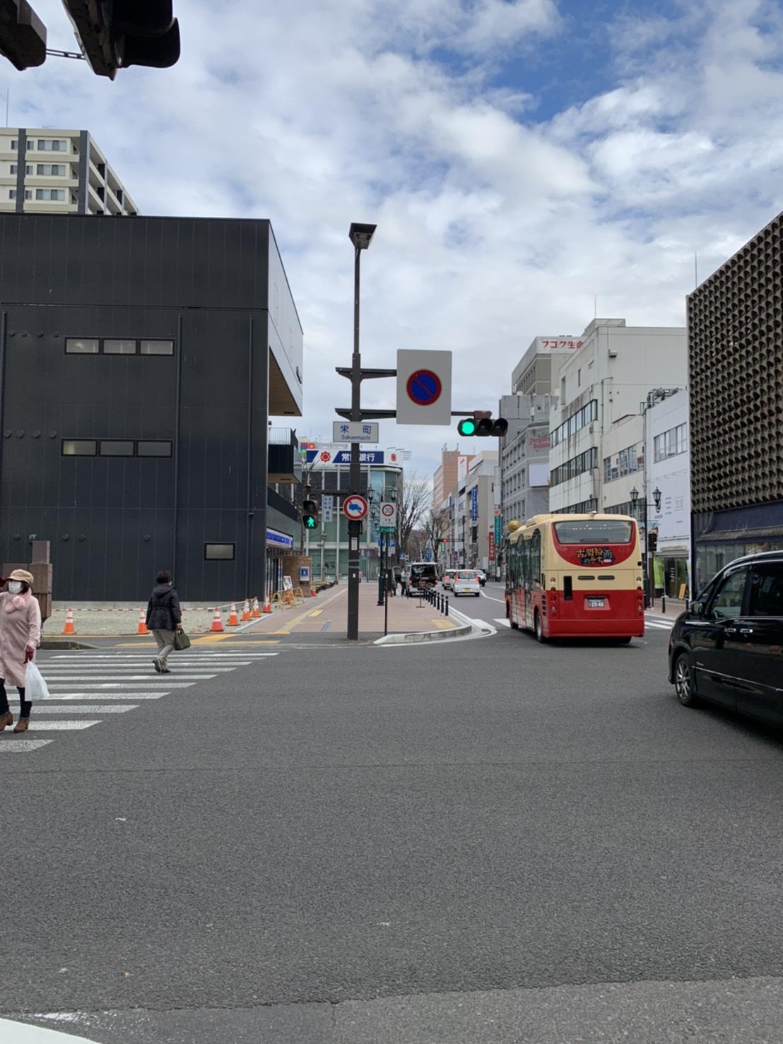 福島駅からWhiteningBAR福島店道案内4